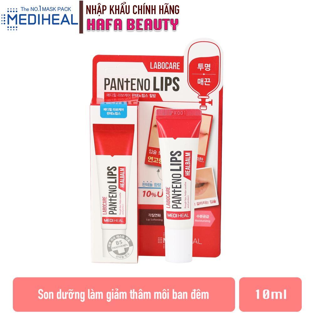 Son dưỡng Đặc Trị Thâm Môi Ban Đêm Mediheal Labocare Pantenolips Healbalm 10ml