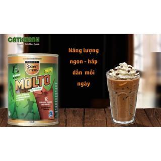 Sữa bột Canxi ca cao Robert Timms Molto Australia 450g giúp tăng trưởng chiều cao, bổ sung Canxi 5