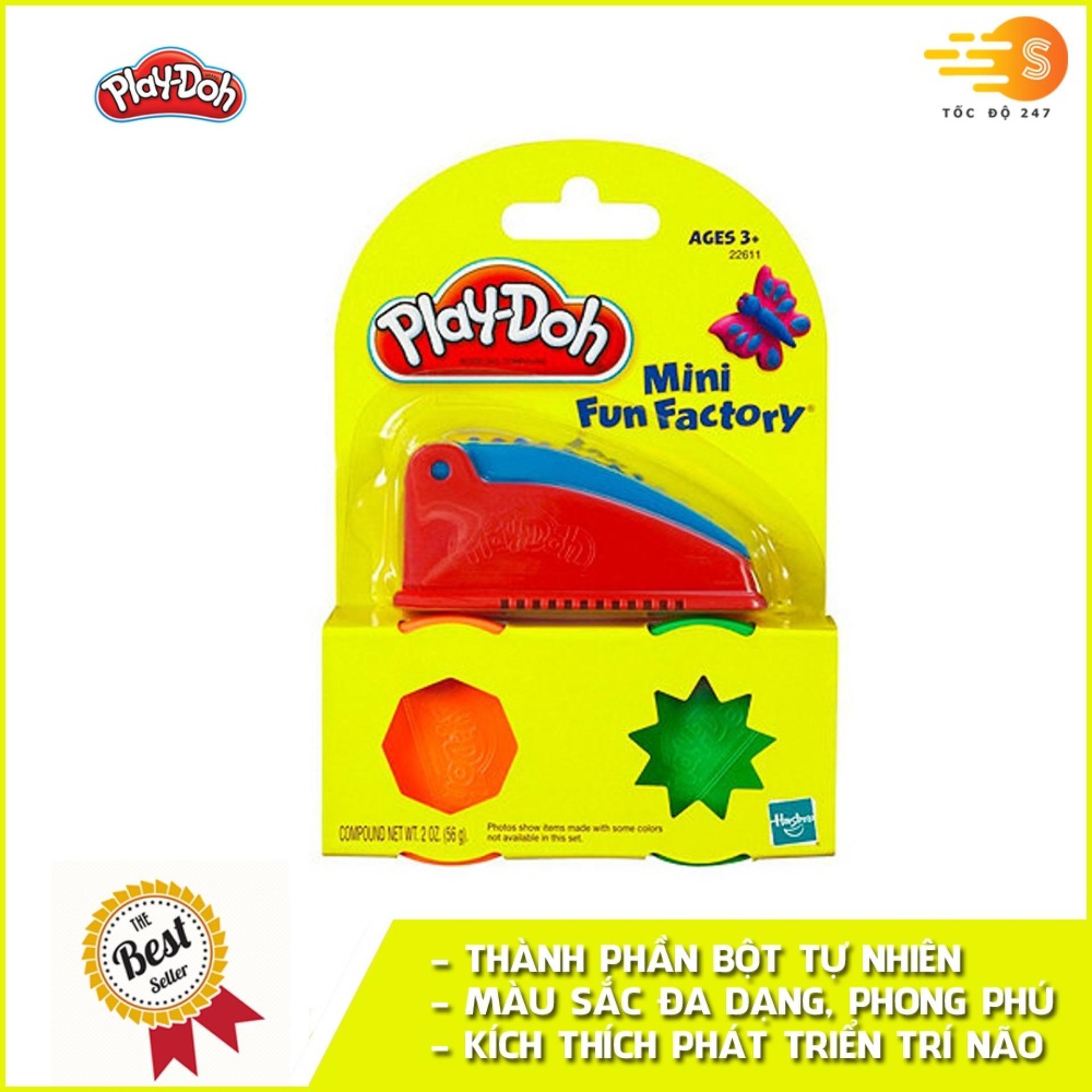 Bộ Bột Nặn Tạo Hình Nhà Máy Vui Vẻ Mini Play-Doh 22611 Giảm Duy Nhất Hôm Nay