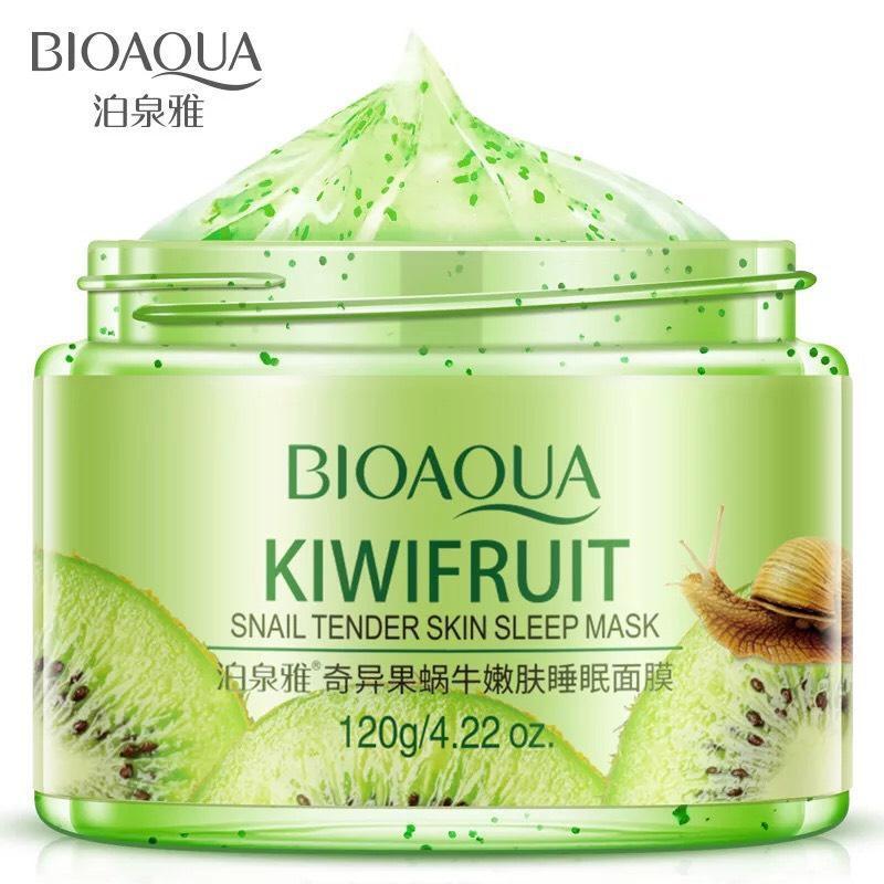 Mặt nạ ngủ Bioaqua tinh chất kiwi giúp da trắng sáng mịn màng nhập khẩu