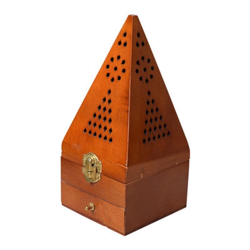 Middle East Incense Burner Version 20cm Tower Wooden Smoked Incense Burner Singapore