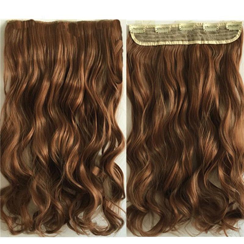 Tóc Giả Xoăn Sóng Dài 55 Cm, tóc giả nữ + Tặng thẻ tích điểm nhận quà.