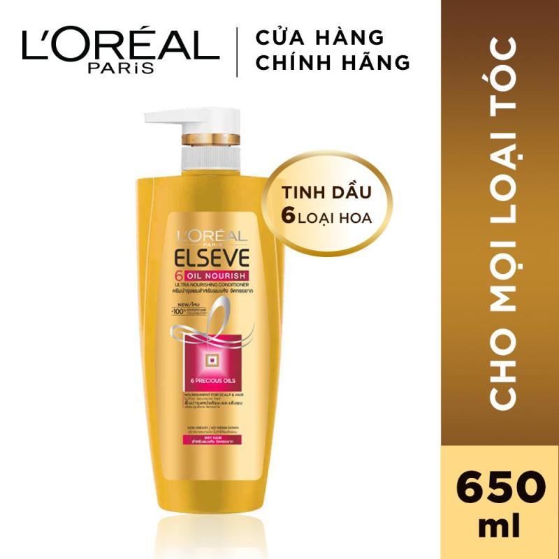 Dầu gội chiết xuất tinh dầu hoa tự nhiên LOreal Paris Elseve Extraordinary Oil Ultra Nourishing 650ml giá rẻ