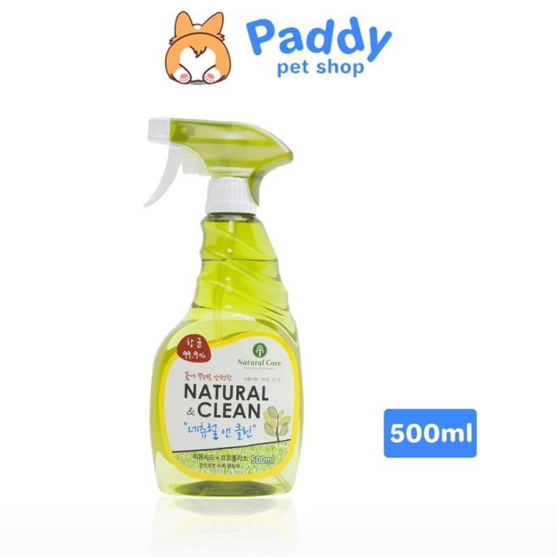 Xịt Khử Mùi Diệt Khuẩn Bảo Vệ Sức Khỏe Cả Gia Đình Và Vật Nuôi Natural Core Natural Clean