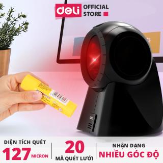 Máy quét mã vạch chính hãng Deli E14884 thumbnail
