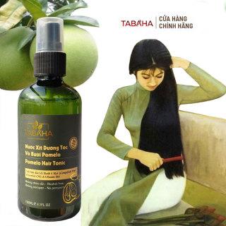 Xịt dưỡng tóc Tinh dầu bưởi & Vitamin B5 Pomelo 120ml Tabaha kích thích mọc tóc nhanh thumbnail