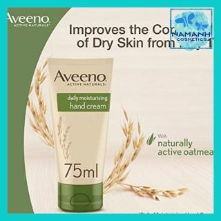Kem dưỡng da tay Aveeno Daily Moisturising Hand Cream 75 ml Găng tay bảo vệ thường xuyên thumbnail
