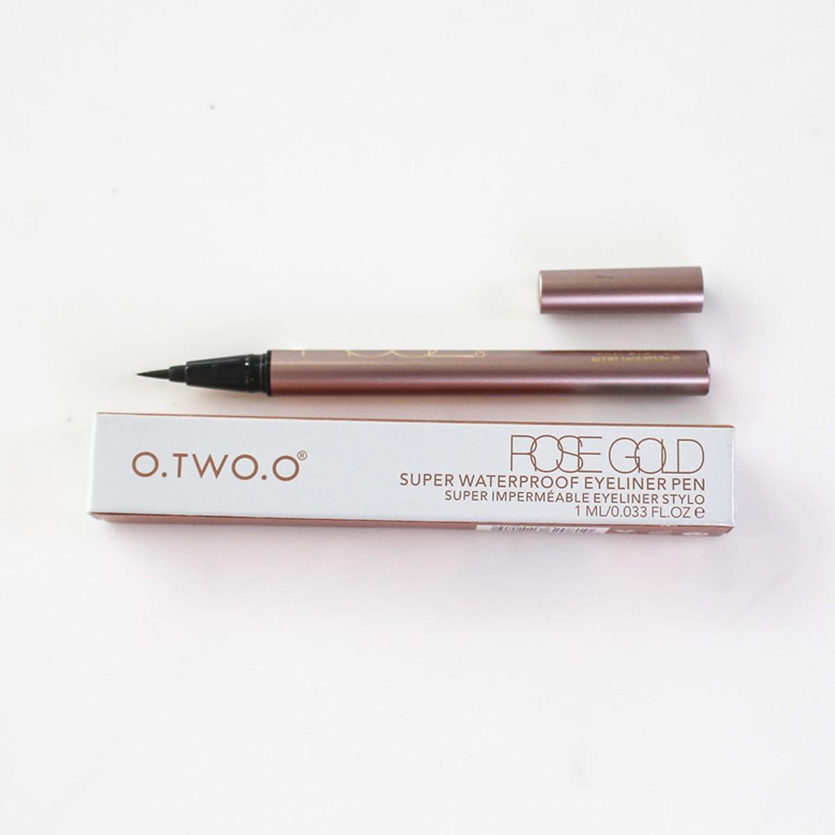 Bút Eyeliner O.TWO.O Rose Gold Super Waterproof Eyeliner Pen Đang Ưu Đãi Cực Đã