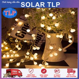Đèn LED Bóng Tròn Dùng Pin Trang Trí Nhà, Sân Vườn thumbnail
