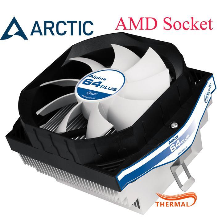 Quạt Tản Nhiệt Cpu AMD Arctic Alpine 64 PLUS [ThermalVN] - Hiệu Năng Tốt, Quay Êm, Tuổi Thọ Cao