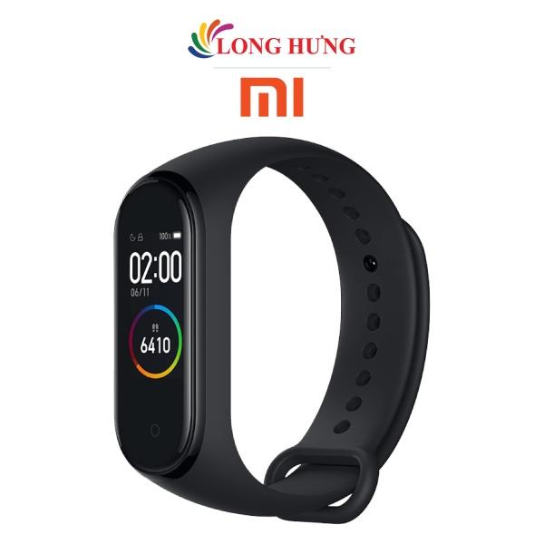 Vòng đeo tay thông minh Xiaomi Mi Band 4 MGW4052GL XMSH07HM - Hàng chính hãng - Màn hình độ sáng 400 nit Cường lực 2.5D Pin 125mAh