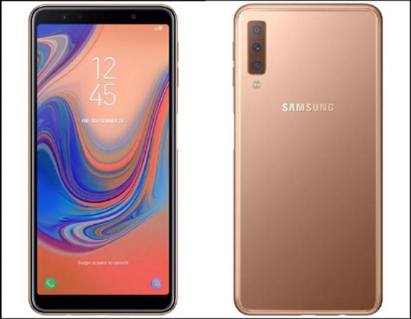 Điện thoại Samsung Galaxy A7 2018 - Hàng chính hãng