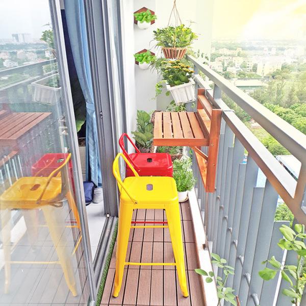 [FREESHIP 20K TOÀN QUỐC] Bàn Treo Ban Công GreenHome , bàn ban công gấp gọn, bàn gỗ treo ban công