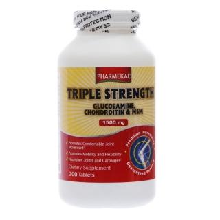 TPBVSK XƯƠNG KHỚP PHARMEKAL GLUCOSAMIN, CHONDROITIN, MSM, CHAI 200 VIÊN thumbnail