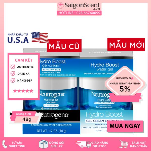 Kem dưỡng ẩm Neutrogena Hydro Boost - Gel Cream Extra – Dry Skin (48g)