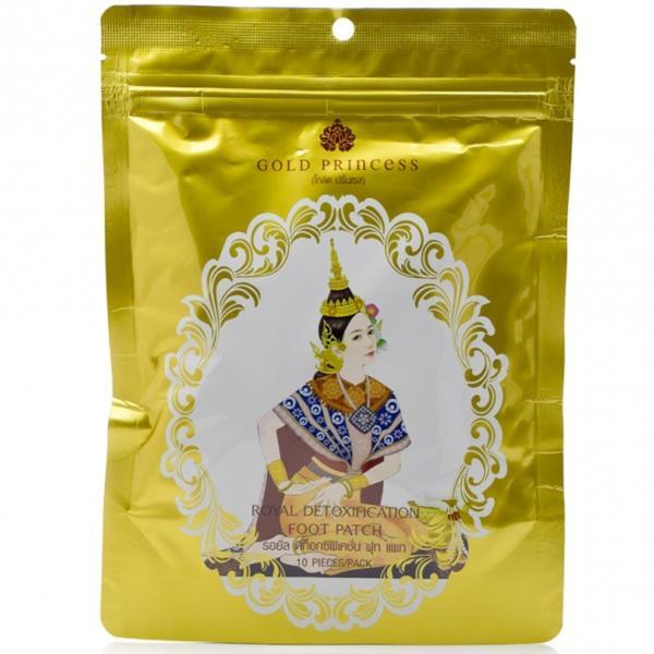 Miếng Dán Thải Độc Chân Thái Lan Gold Pricess cao cấp