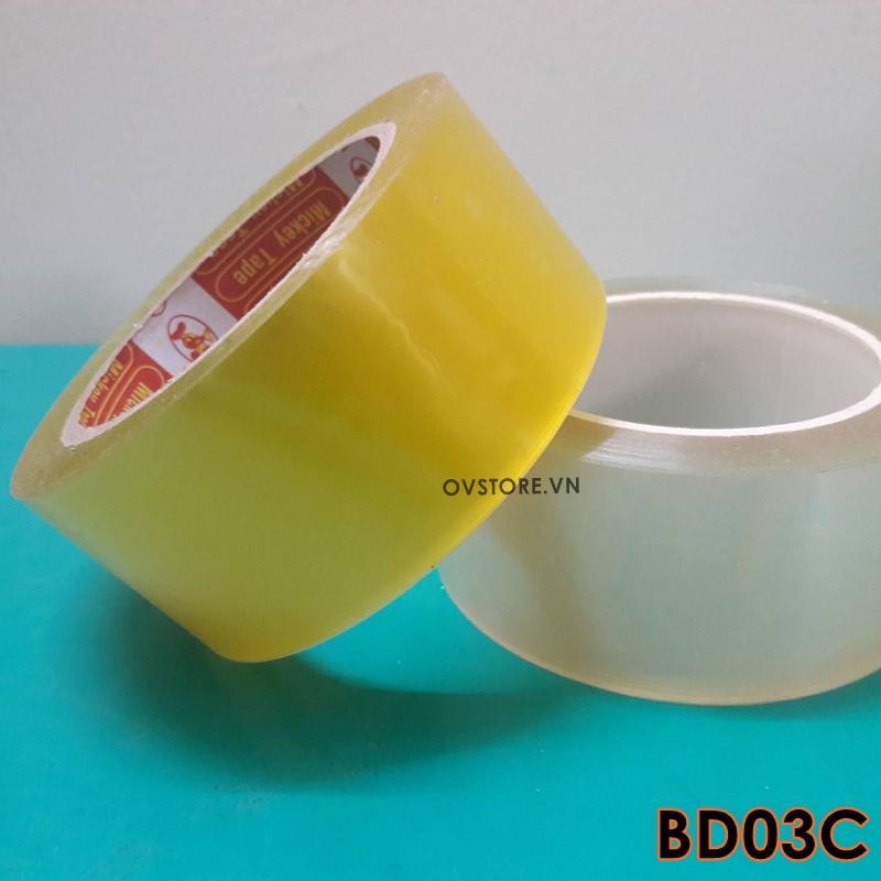 Mua Cuộn băng dính 100Ya đóng gói hàng hóa 3 màu tiện dụng BD01C
