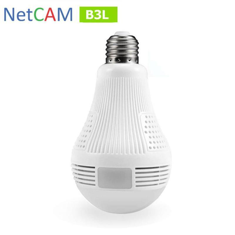 Camera bóng đèn quay toàn cảnh 360 độ NetCAM B3L 3.0MP