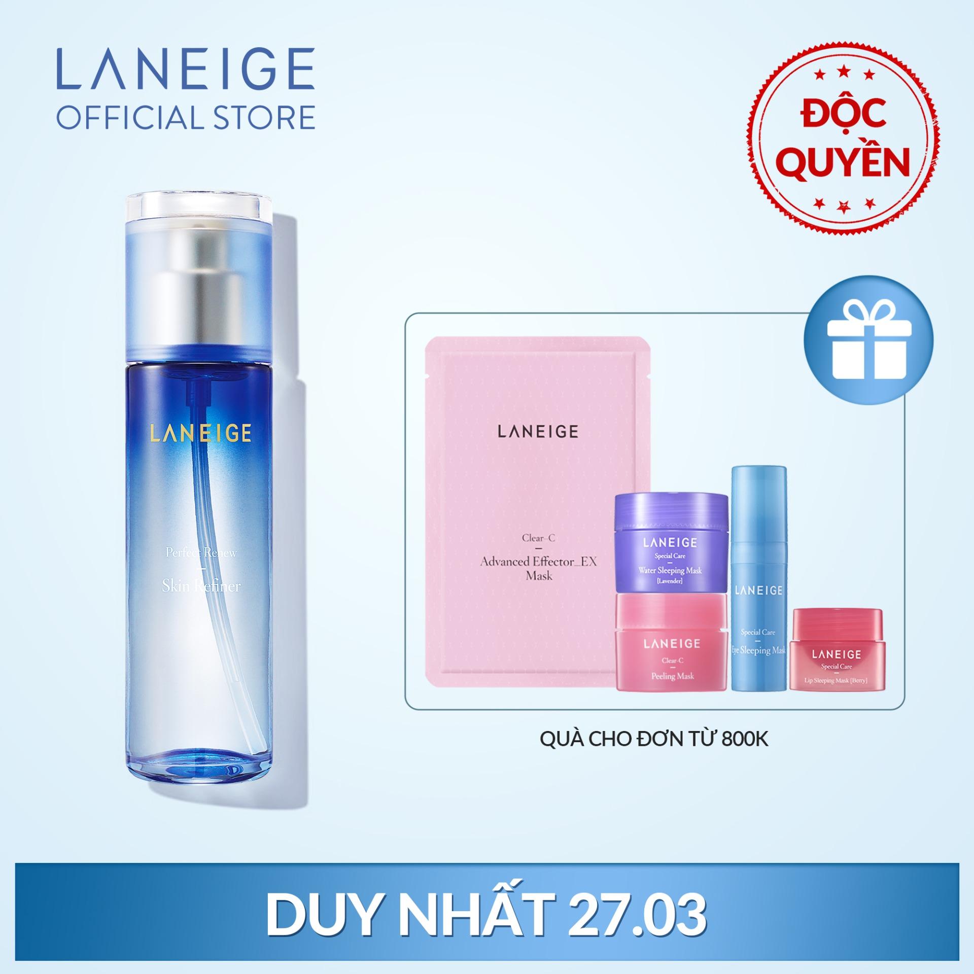 Nước cân bằng ngăn ngừa lão hoá da Laneige Perfect Renew Skin Refiner 120ml nhập khẩu