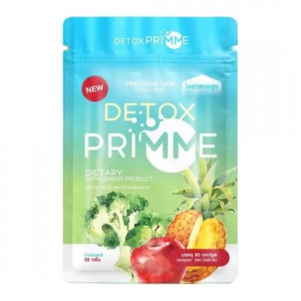 60 Viên khử mỡ Detox Primme Thái Lan 2020 chiết xuất rau củ cao cấp