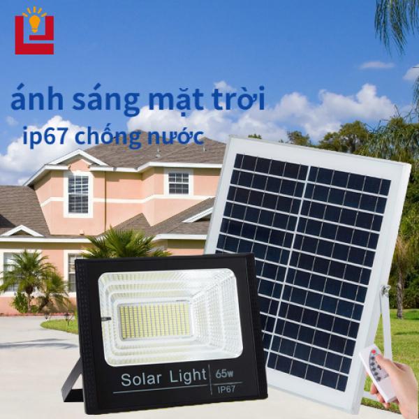 B&B Bảng đèn LED 10W-150W siêu sáng sử dụng năng lượng mặt trời chống thấm nước có điều khiển từ xa thông minh - INTL
