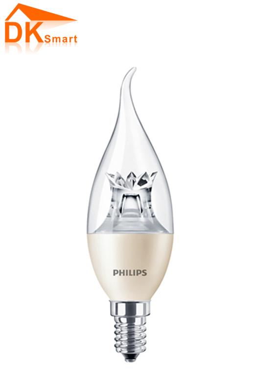 [Philips] Bóng Led nến 4-25W E14 BA38 CL DIM (Màu Vàng) - Hàng Chính Hãng