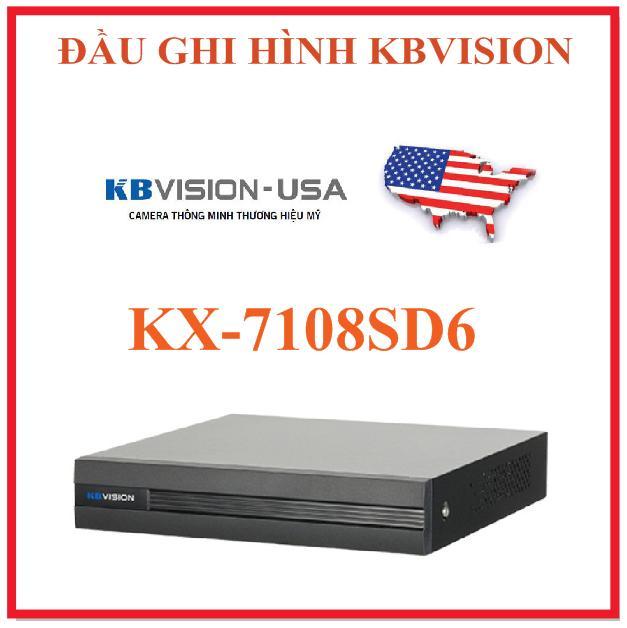 ĐẦU GHI HÌNH KX-7108SD6 THƯƠNG HIỆU MỸ