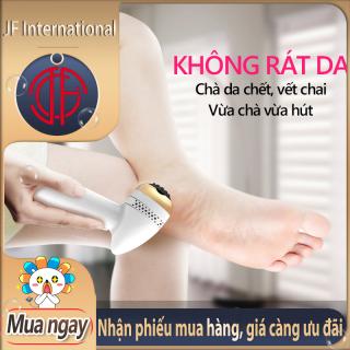 Máy chà gót chân máy tẩy da chết chân tự động hút bụi cọ gót chân khô nứt vết chai chân massage chân nhỏ gọn tiện lợi cao cấp thumbnail