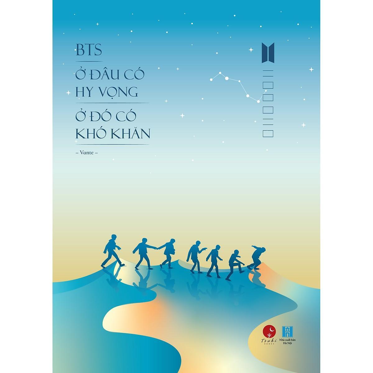 Mua [ Sách - Bản Đặc Biệt ] BTS - Ở Đâu Có Hy Vọng Ở Đó Có Khó Khăn (Tặng Kèm 2 Card Plastic Thành Viên & 1 Bookmark Hình Đặc Biệt)