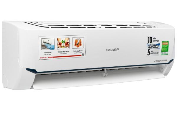 Máy lạnh - Điều hòa Sharp 1 chiều Inverter 9000BTU AH-X9XEW - Hàng chính hãng - Bảo hành 12 tháng