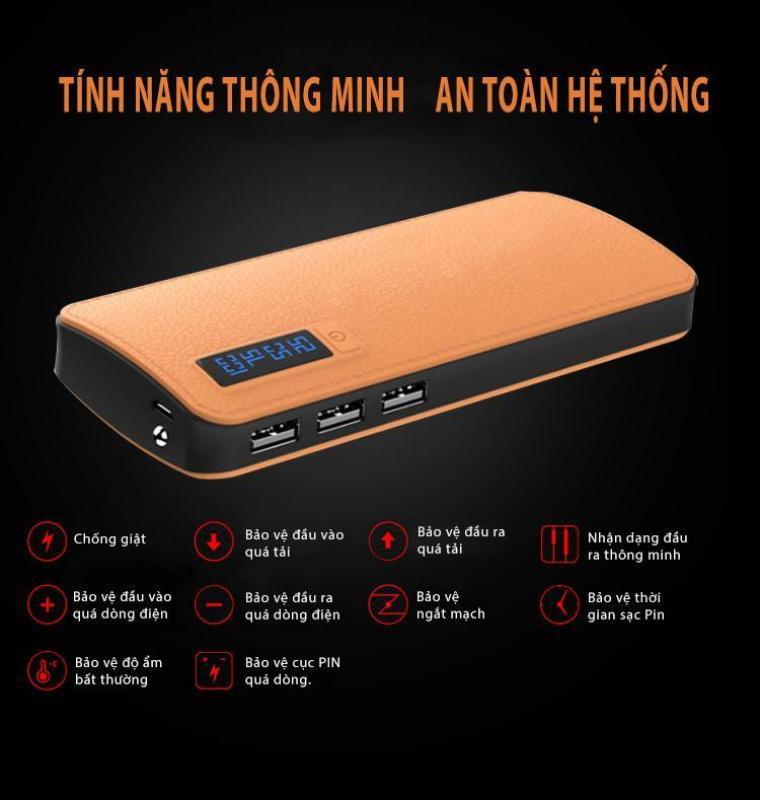 Giá SẠC DỰ PHÒNG SS/OPPO LCD 30000MAH / 28.000MAH GIẢ DA/ HIỂN THỊ CAO CẤP - SẠC CỰC NHANH