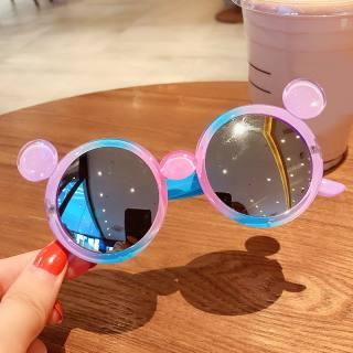 ❤Babytime61❤ Kính mát sành điệu cho trẻ em, ống kính chống phản xạ, chống tia cực tím UV400, khung nhựa phối nhiều màu dễ thương, giá tốt - INTL