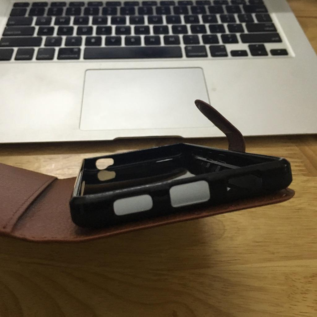BlackBerry KEY2 - Bao da bảo vệ điện thoại chất liệu PU có ví