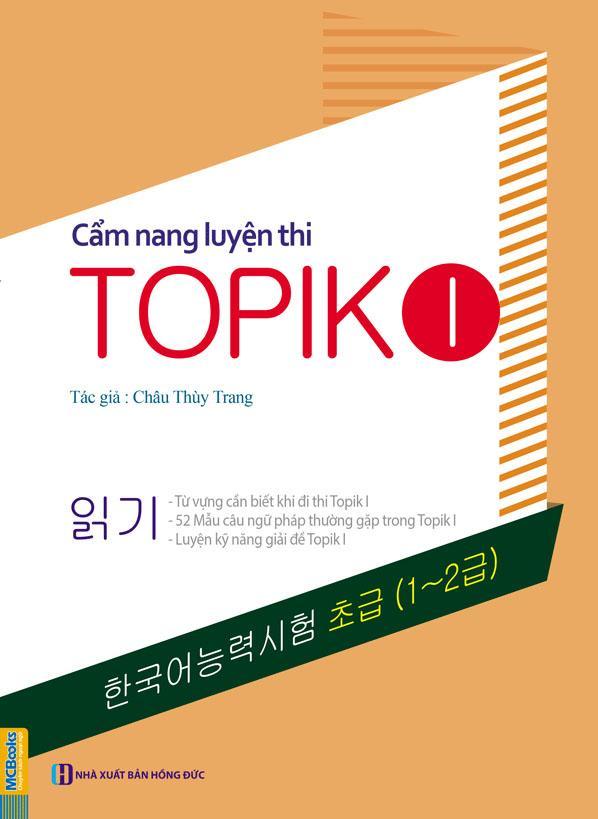 Mua Cẩm nang luyện thi Topik I - Châu Thùy Trang