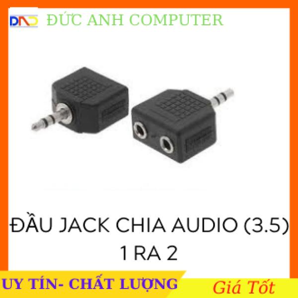 Bảng giá Jack chia Audio 3.5 ra Mic và Loa -OTG3 Đầu cắm 3.5mm chia ngõ âm thanh ra Mic và Loa đầu chia Tai Nghe 3.5 Mic và Loa - Jack Chia (Gộp) Cổng Tai Nghe -OTG3 Phong Vũ