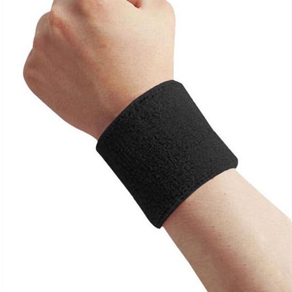 Combor 2 băng cổ tay thấm mồ hôi tập gym BENDU PK5103- Hai băng cổ tay thể thao
