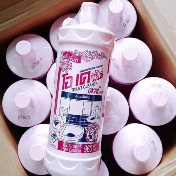 Tẩy bồn cầu okay Thái Lan 960 ml