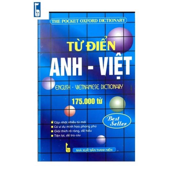 Mua Từ Điển Anh Việt 175.000 Từ