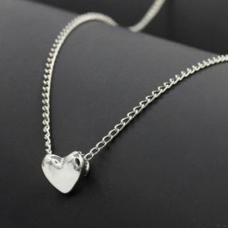Dây chuyền nữ bạc Ý S925 mặt trái tim cute siêu xinh thumbnail