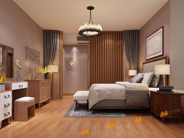 Giá bán Tủ gỗ An Nhiên hiện đại góc cạnh sắc nét phù hợp căn hộ xứng đáng đồng tiền bỏ ra Gỗ MDF loại cao cấp độ dày 17mm chất lượng gỗ vượt trội Mẫu mới hiện đại G243