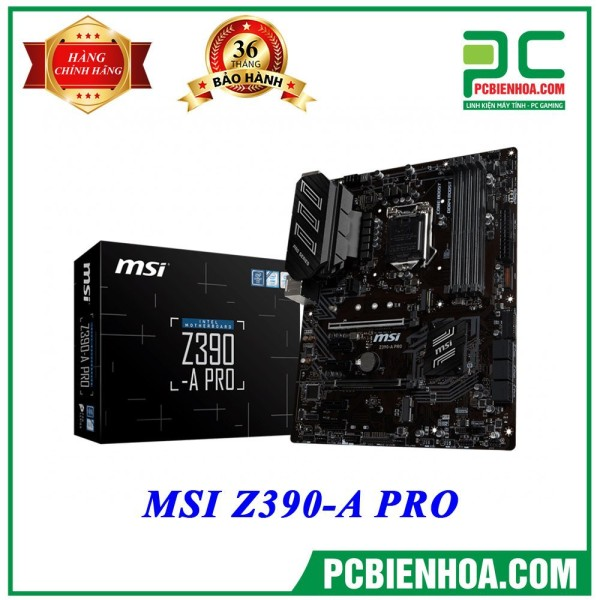Bảng giá Mainboard MSI Z390-A PRO ( LGA1151 / ATX / 4xDDR4 ) Phong Vũ