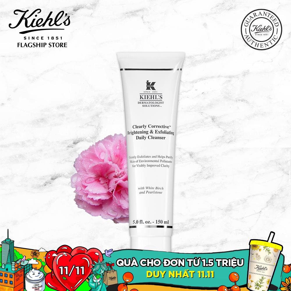 Sữa Rửa Mặt Làm Sạch Sâu và Sáng Da Kiehl's Clearly Corrective™ Brightening & Exfoliating Cleanser 150ML