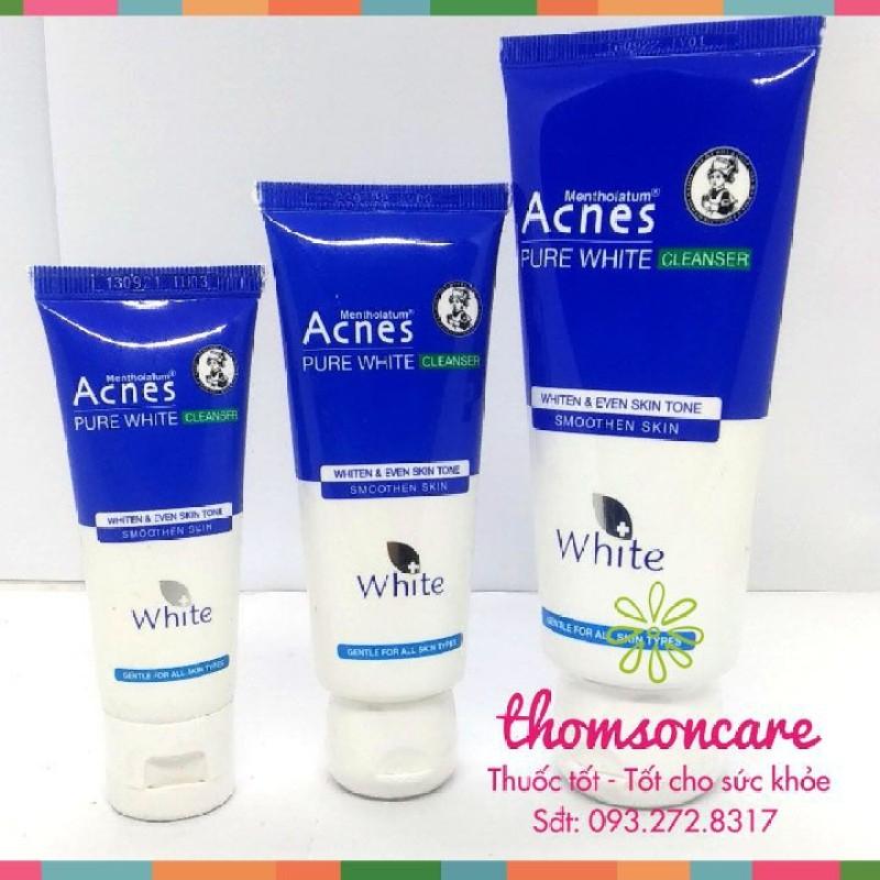 Sữa rửa mặt dưỡng trắng da - Acnes Pure White - Chính hãng