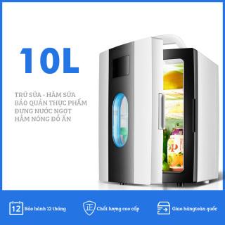 Tủ lạnh mini 10 lít SAST ST10L 2 chế độ làm lạnh hâm nóng cho gia đình và trên ô tô thumbnail