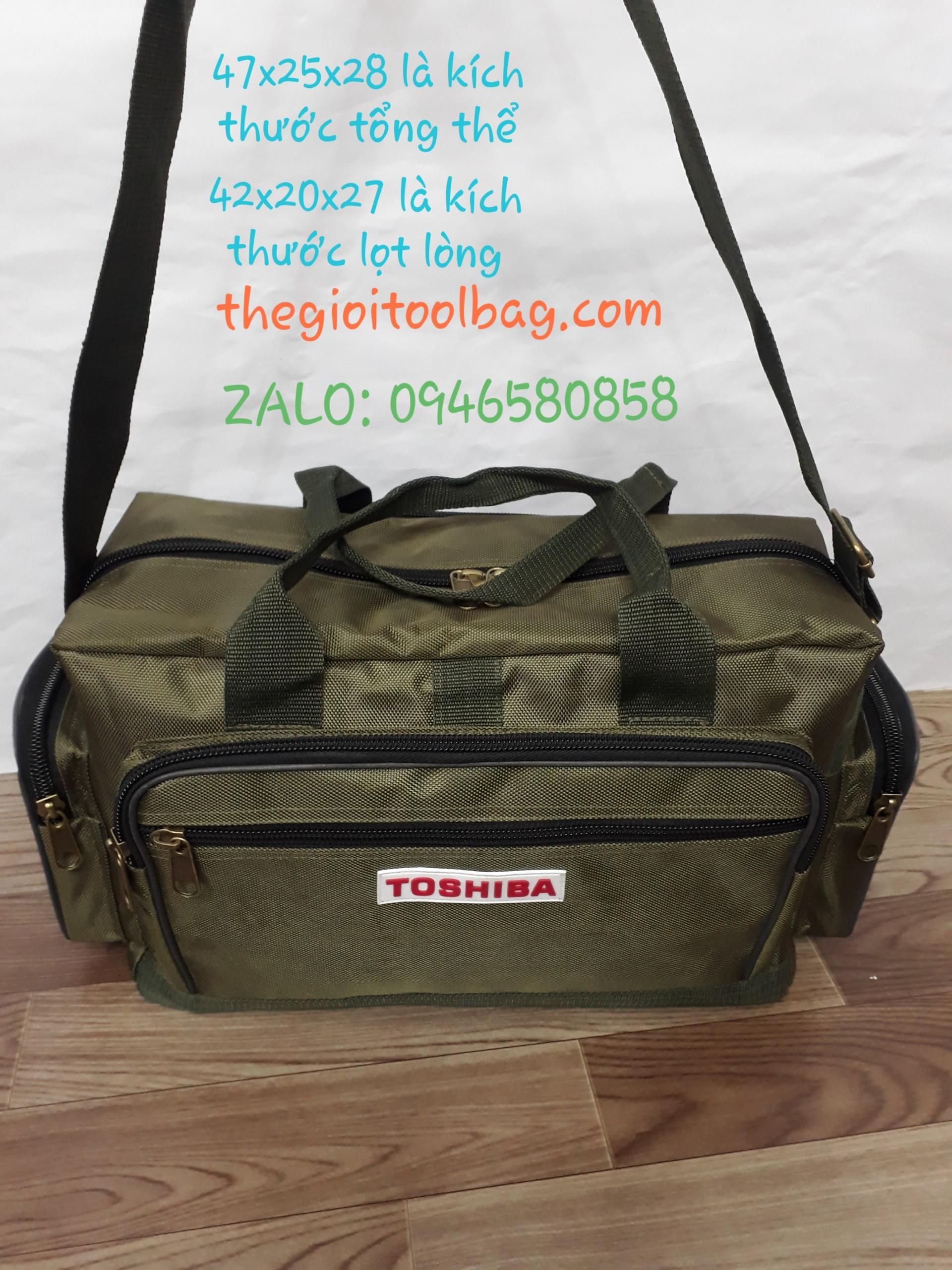 Túi đựng đồ nghề Toshiba Size-18inch cao cấp