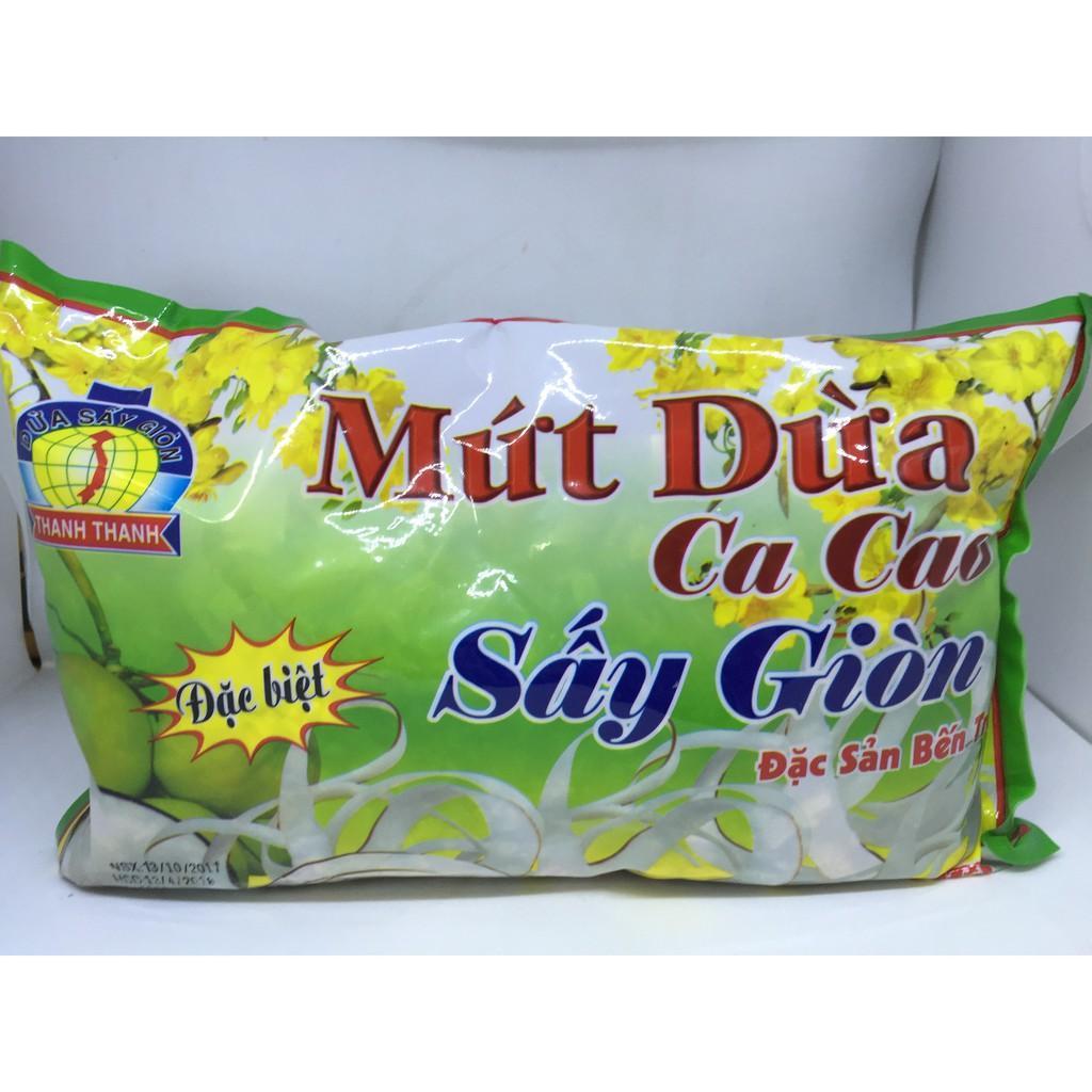 Mứt Dừa cacao Sấy Giòn 500g