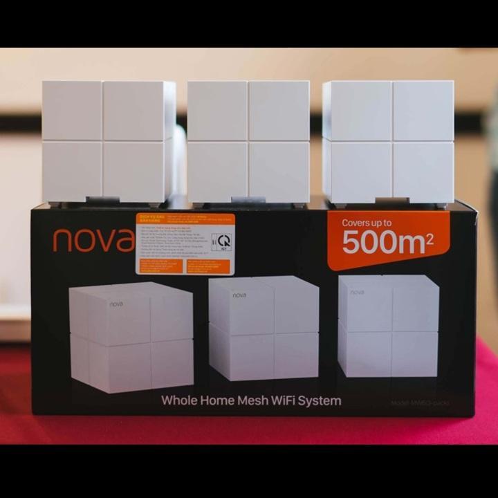 Giá Bộ Wifi Mesh không dây Tenda Nova MW6 - Bộ 3 cục