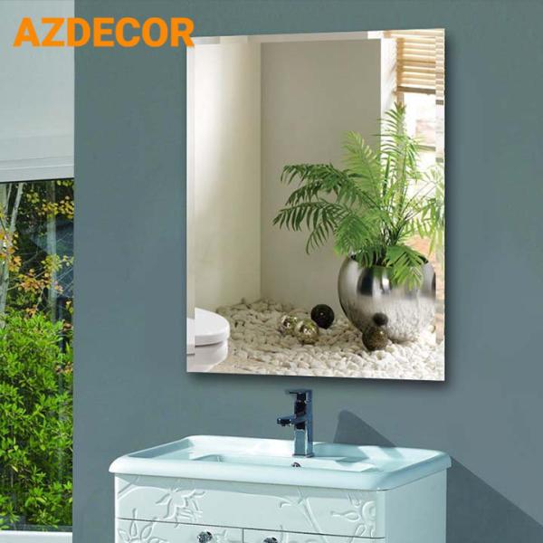 Gương Phòng Tắm Chữ Nhật KT40x60cm, Gương Soi Nhà Tắm Chống Ố Mốc giá rẻ