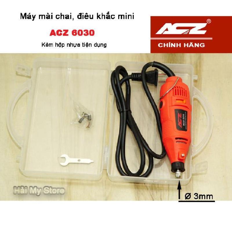 Máy Mài Chai ACZ Đầu Cặp 3mm - ACZ6030 - Có Hộp Nhựa
