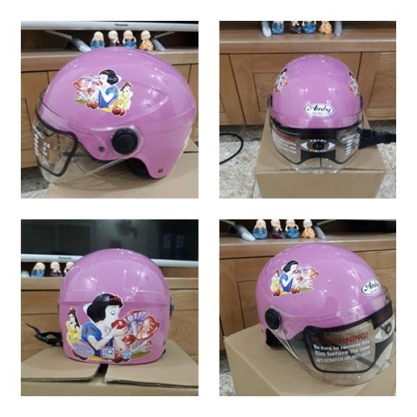 Giá bán Mũ bảo hiểm có kính cho Trẻ em - An toàn + Nhiều họa tiết
